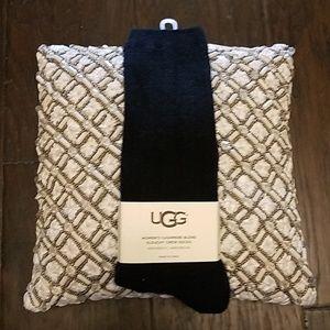 Ugg cashmere blend slouchy crew socks